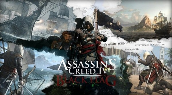 Игры PlayStation 4 – Assassin's Creed IV: Black Flag