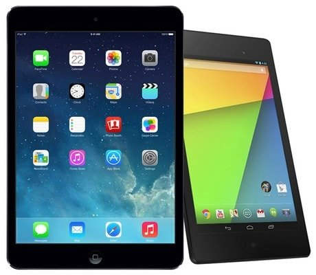 iPad Mini 2 Retina – Nexus 7 2013 года