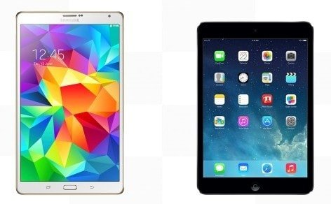 iPad Mini 2 Retina – Samsung Galaxy Tab Pro 8.4
