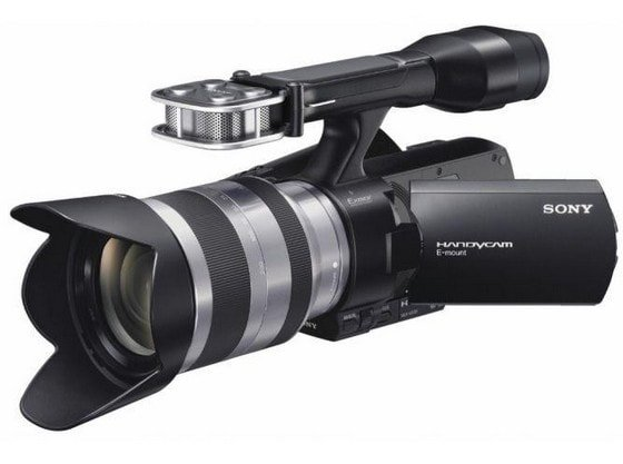 Видеокамера Sony NEX-VG20E Full HD со сменной оптикой