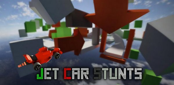 Jet car stunts android и iOS
