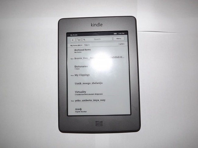 Amazon Kindle 4 Touch (d01200)