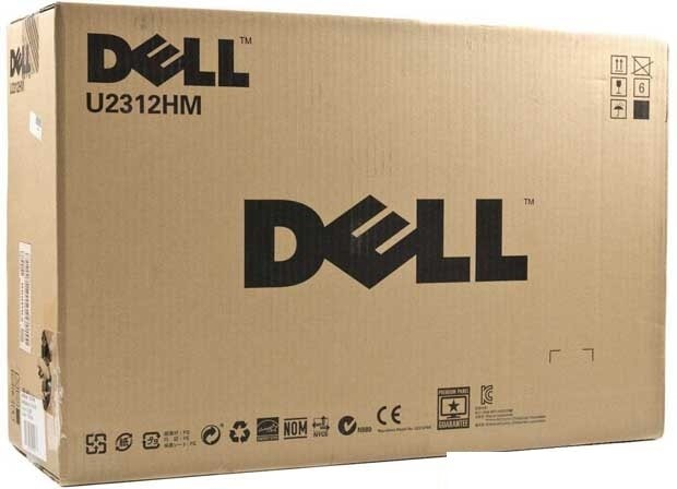 Обзор Dell UltraSharp U2312HM - Упаковка Dell UltraSharp U2312HM