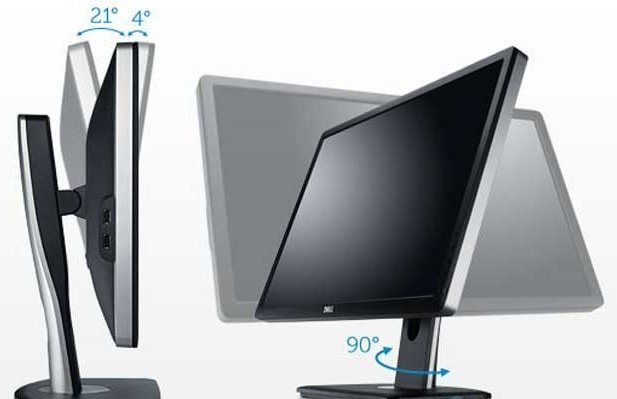 Обзор Dell UltraSharp U2312HM - Дизайн Dell UltraSharp U2312HM