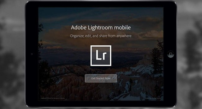 Adobe Lightroom для iPad – обзор фоторедактора