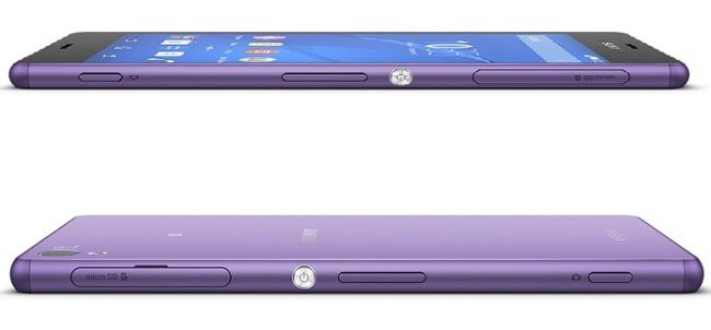Смартфон Sony Xperia Z3 Purple Diamond Edition