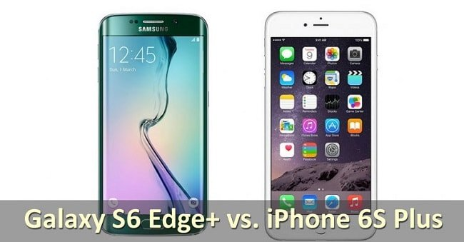 Galaxy S6 vs iPhone 6S или почему Android лучше?