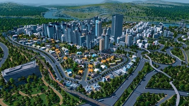 Игра Cities: Skylines на Apple