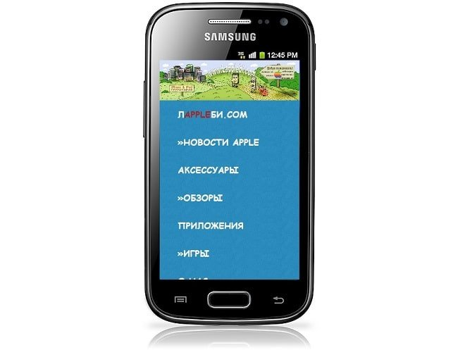 Смартфон Samsung Galaxy Ace 2