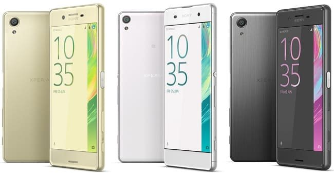 Характеристики смартфона Sony Xperia X Performance