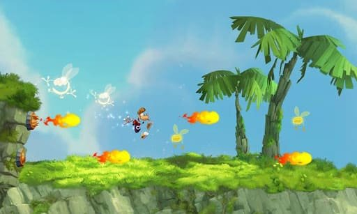 Игра Rayman Jungle Run на iOS и Android
